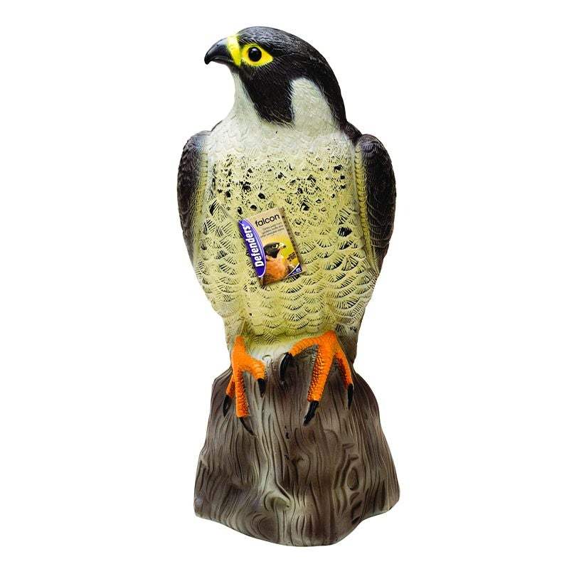 "FALCON DECOY / BIRD SCARER / DETERRENT 14"" TALL"